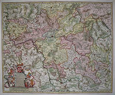 Archiepiscopatus et Electoratus Moguntini - Erzbistum Mainz von de Wit - 1690