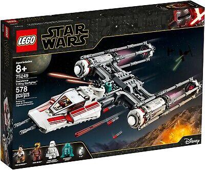 LEGO Star Wars 75249 Y-Wing Starfighter and 40407  Death Star II Battle Bundle