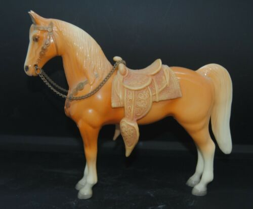 Original Breyer Western Pony Glossy Palomino