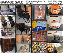 GARAGE SALE 28th May – 52 Kurwongbah Drive Petrie 6am-2pm Petrie Pine Rivers Area Preview