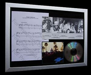 EAGLES-Hotel-California-LTD-Nod-MUSIC-CLASSIC-FRAMED-DISPLAY