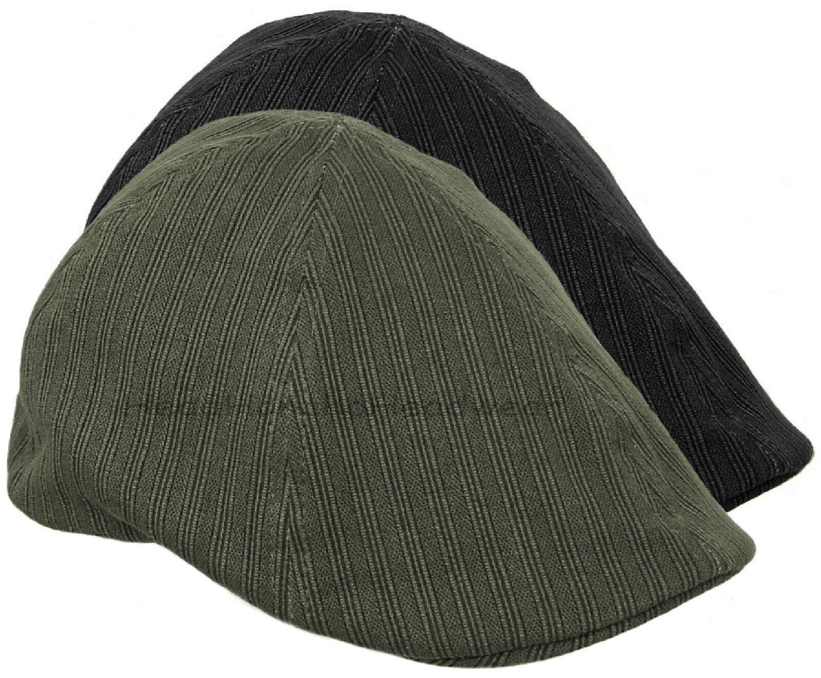 Washed Cotton Duckbill Ivy Cap Men Gatsby Newsboy Hat Golf Driving Flat Cabbie