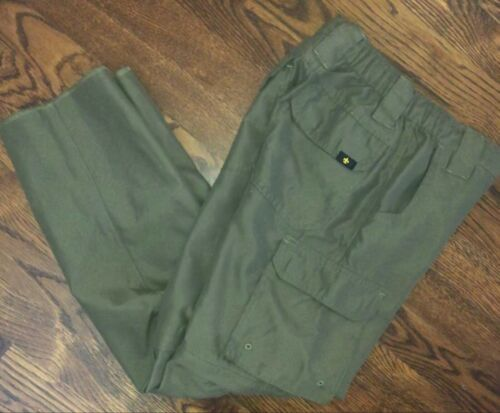 BOY SCOUTS OF AMERICA SWITCHBACK PANTS YOUTH SMALL NICE!