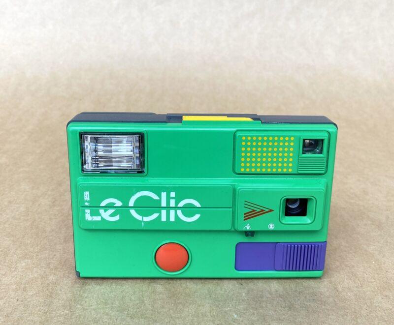 Le Clic Film Camera (Disc Film) GREEN, Point & Shoot, Vintage!!