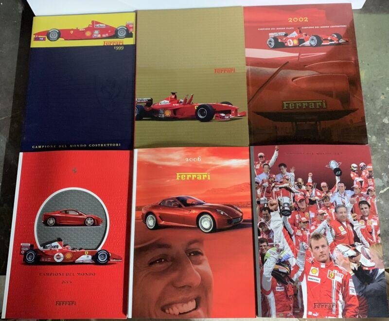 Ferrari 1999, 2000, 2002, 2004, 2006, 2007 Annual Yearbooks