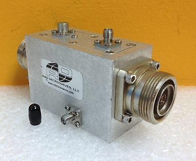 Rd Microwaves Llc C2-a28 1700 To 2700 Mhz Dual Coaxial Directional Coupler