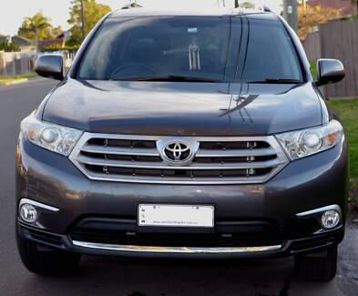 2013 Toyota Kluger KX-S Wagon excellent condition