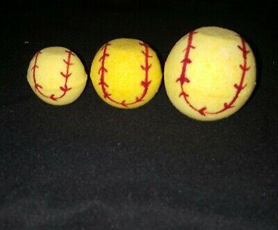 Softball Bath Bombs , Small Bath Bombs, Party favors , Coach Gift - Softball Party Favors