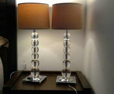 Table lamps in excellent condition
