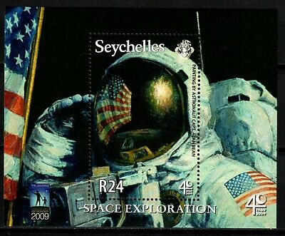 Seychelles stamps - 2009 Space R24 Sheet MNH