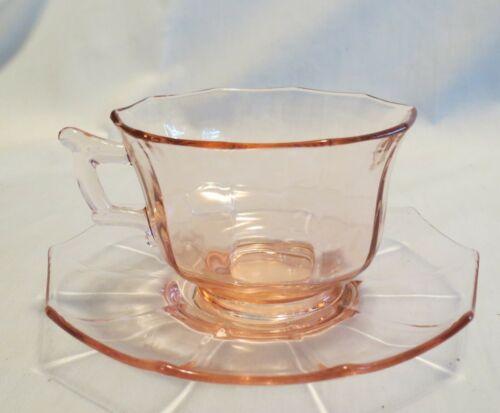 Pink Cambridge Decagon Cup & Saucer Set(s)