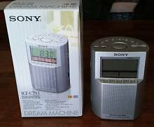 Sony ICF-C793 Dream Machine Clock Radio Brompton Charles Sturt Area Preview