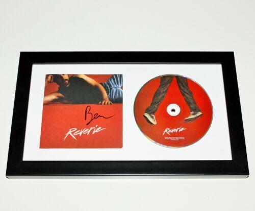 SINGER BEN PLATT SIGNED FRAMED 'REVERIE' CD COVER ALBUM w/COA DEAR EVAN HANSEN