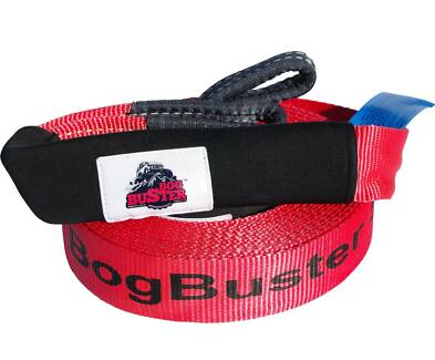 BOGBUSTER SNATCH STRAP 5T 10 METER RECOVERY 4X4 4WD OFF ROAD NEW