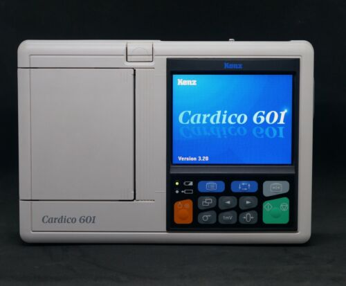 "Kenz Cardico 601 5.7"" Color LCD (382-237964) ECG Machine"