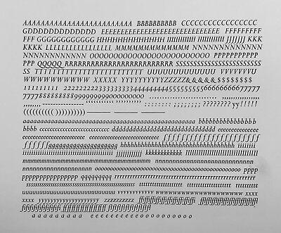 New Letterpress Type -10pt. Perpetua Italic