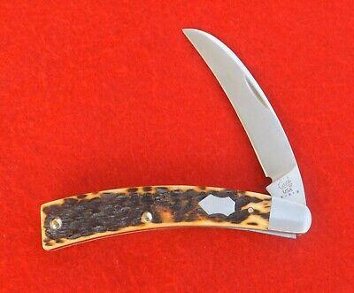 Case XX Antique Bone Tony Bose ATS34 Gardner Pruner Knife