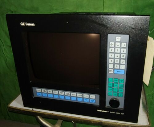GE Fanuc CIMPLICITY Monitor Display System 3000 GDT (36231-BPR9)