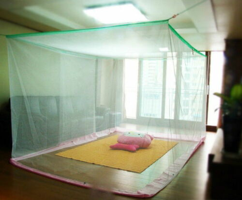 Extra Large size White Mosquito Fly Net Netting Indoor Outdoor Camp Portable bug