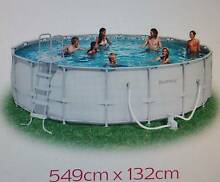 18ft Bestway Above Ground Swimming Pool (549x132) Used Kanwal Wyong Area Preview