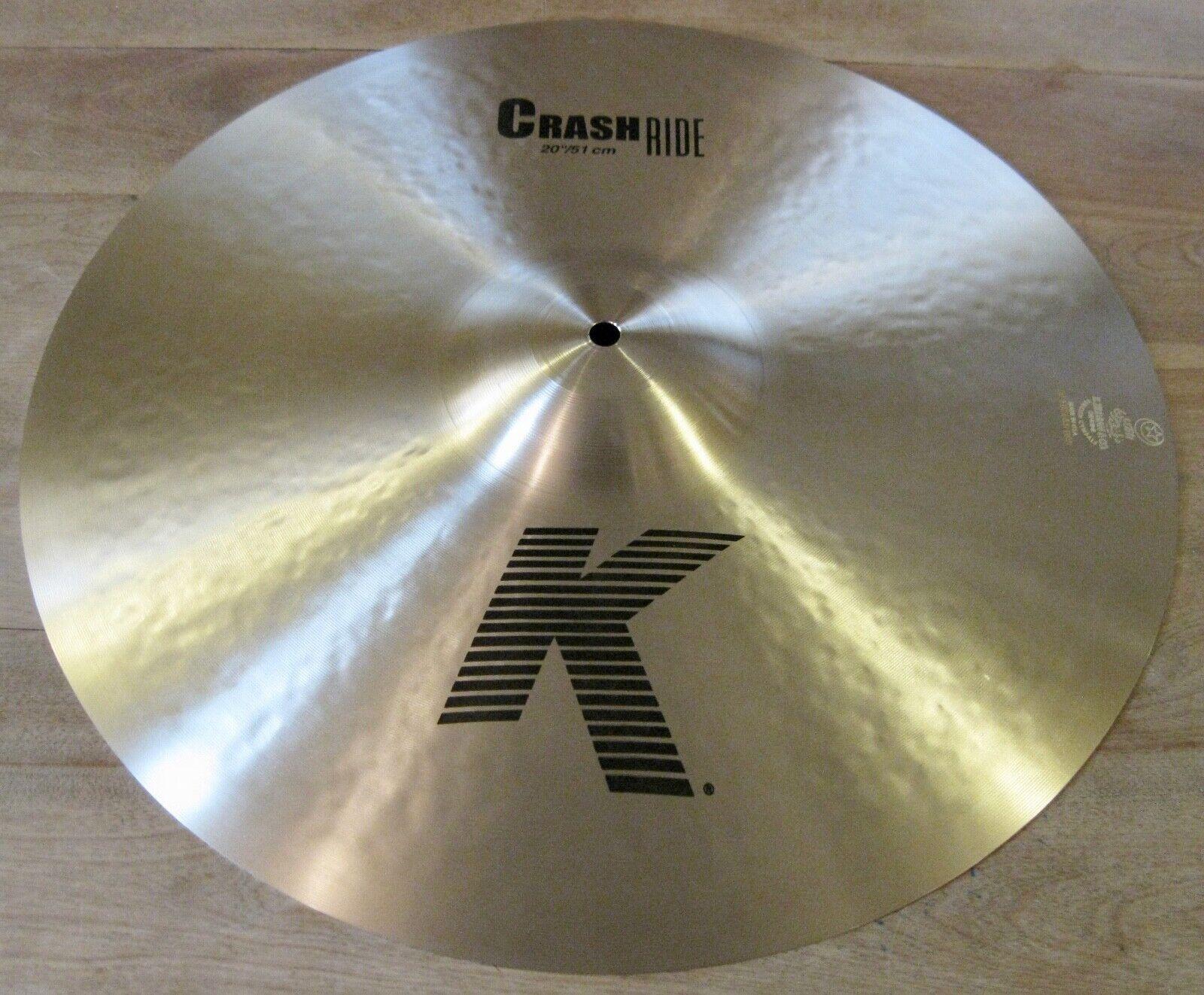 Zildjian 20 K Crash Ride Cymbal - K0810 - $215.00