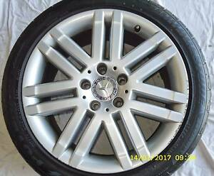 MERCEDES BENZ 17'' ALLOY WHEEL'S/ TYRE'S - (SET OF 4 FOR SALE) Upper Coomera Gold Coast North Preview
