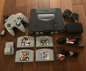 Lot Nintendo - Console N64