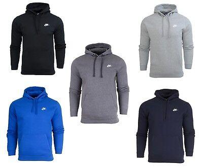Fleece Hoody Hoodie Sweatshirt (Nike heren mens kapuzenpullover kapuzensweatshirt fleece hoody hoodie)