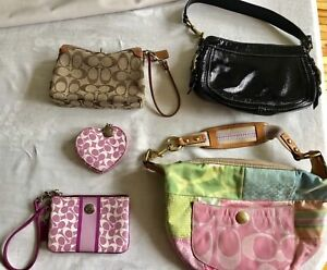 COACH PURSE (s) keychain & accessory