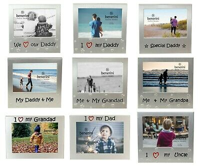 Fathers Day Frames (Fathers Day Gift For Dad Daddy Grandad Grandpa Uncle Photo Picture Frame for)