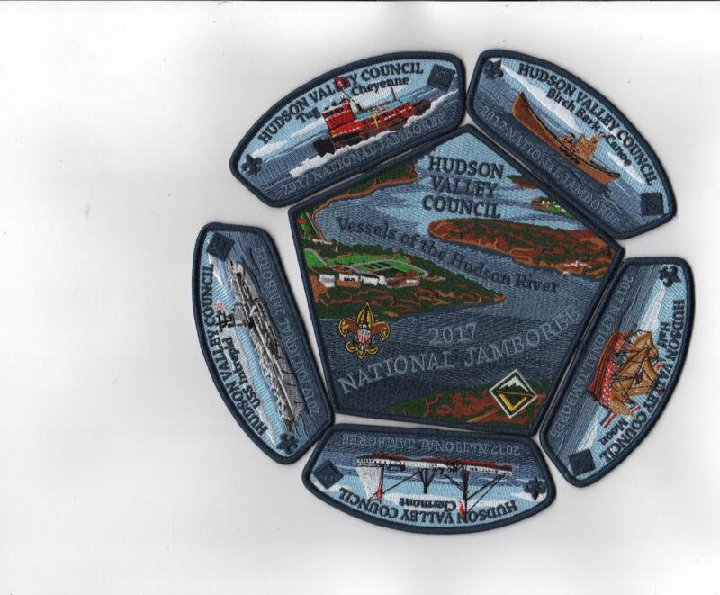 2017 National Scout Jamboree Hudson Valley Council 6 pc. Set JSP [NJ2045]