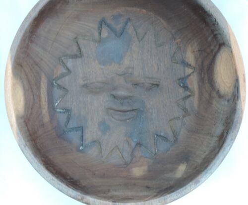 Large+carved+wooden+Bowl+-+Sun+design