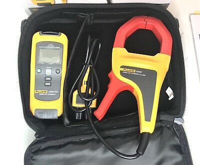 Fluke A3003 Fc Wireless Fluke Connect Dc Current Clamp Meter 2000a Calibrated
