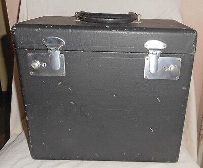 Vintage Original Singer Featherweight Sewing Machine Case-Good Latches-NR