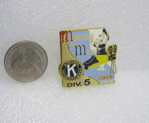 2005-06 Kiwanis International Div 5 California Membership Matters Pin