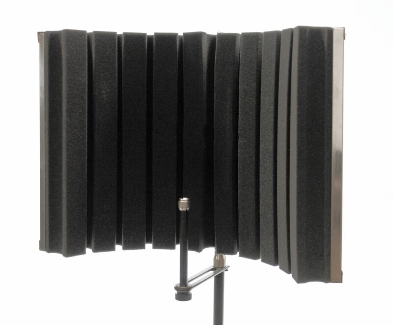 """CAD Audio Acousti-shield AS22 22"""" Folding Stand-Mounted Acoustic Enclosure"""