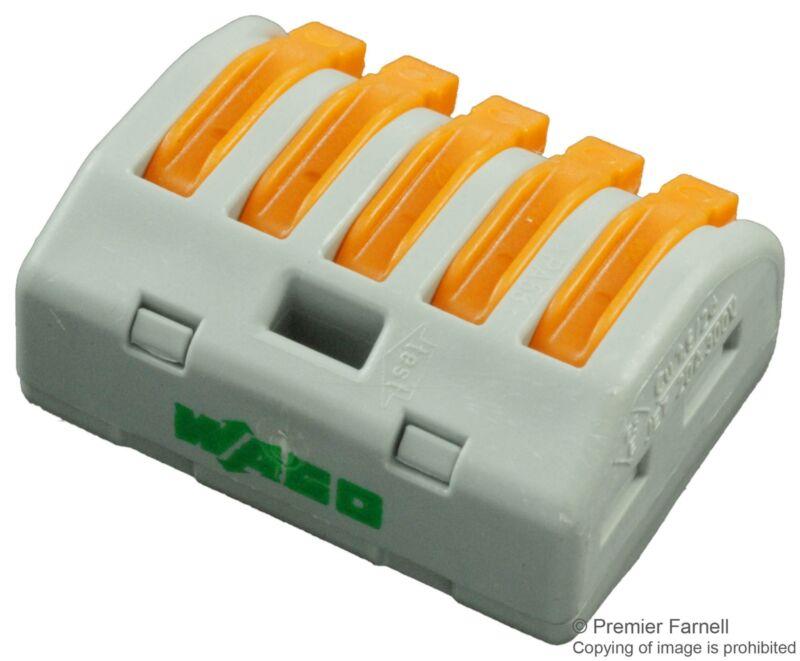WAGO-222-415-TERMINAL BLOCK PLUGGABLE£¬5 POSITION£¬28-12AWG¡ª5pk