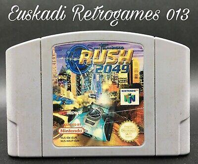 San Francisco Rush 2049 // Nintendo 64 (N64) // Solo Cartucho - PAL EUR // ÚNICO
