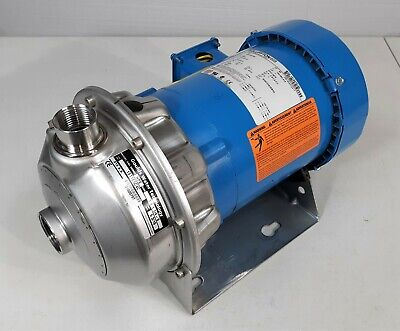 Goulds 1st1e5c4c Stainless Steel 1hp Centrifugal Pump 1x1-14-6 208-230460v