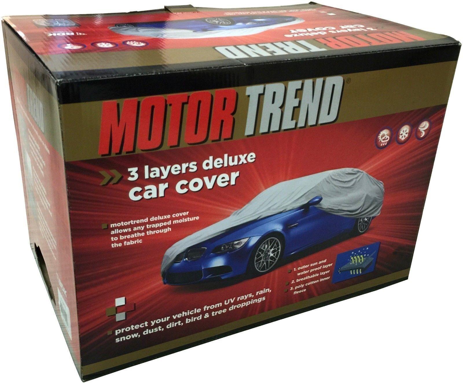Motor Trend Premium Weatherproof 3 Layer Car Cover