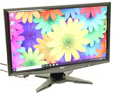 "Acer G235H Abd 23"" 1920 x 1080 Full HD Widescreen LCD Monitor w/ Stand, Cables"