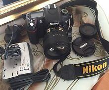 Nikon D80 digital SLR camera with 18-70mm lens bundle. Hobart CBD Hobart City Preview