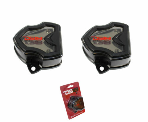 2 PACK DS18 DB1448 CAR POWER GROUND DISTRIBUTION BLOCK 1 4 GA IN 4 8 GAUGE OUT