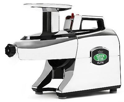 Tribest Greenstar Elite GSE-5050-F Jumbo Twin Gear Slow Masticating Juicer 220V for sale  Whittier