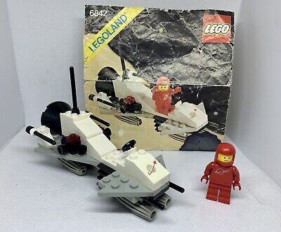 GENUINE VINTAGE LEGO CLASSIC SPACE SET #6842 'SHUTTLE CRAFT' 100% COMPLETE