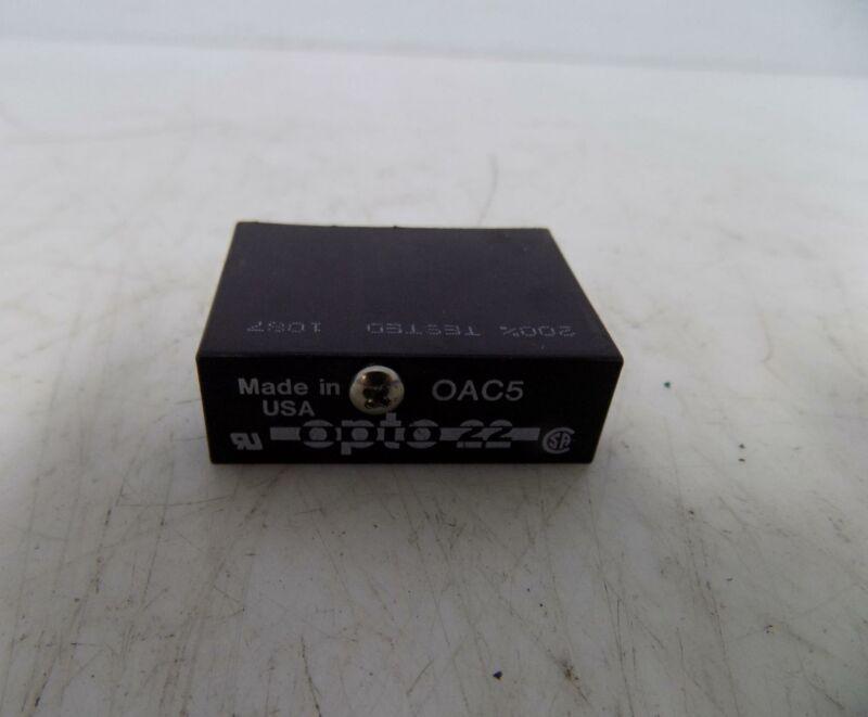 OPTO 22 LOGIC RELAY MODULE  OAC5