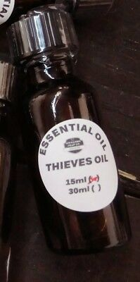 Thieves Oil  15Ml Glass Bottle  Original Formula  Bruise Pain Congestion Germs