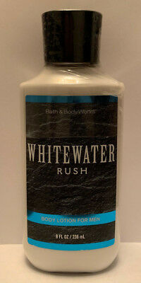Bath And Body Works Whitewater Rush Body Lotion For Men 8oz / 236ml Brand (Mens Lotion)
