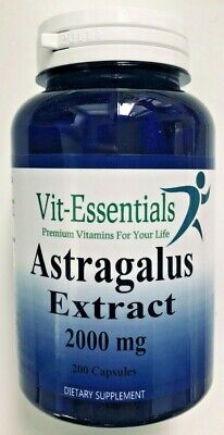 Astragalus Extract 2000 mg 200 Caps High Quality Powerful Immune Vit-Essentials for sale  Shipping to India