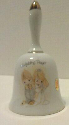 Enesco Paper Sticker A Wedding Prayer Bell 5 1/2